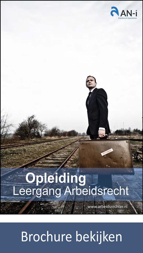 Brochure Leergang Arbeidsrecht