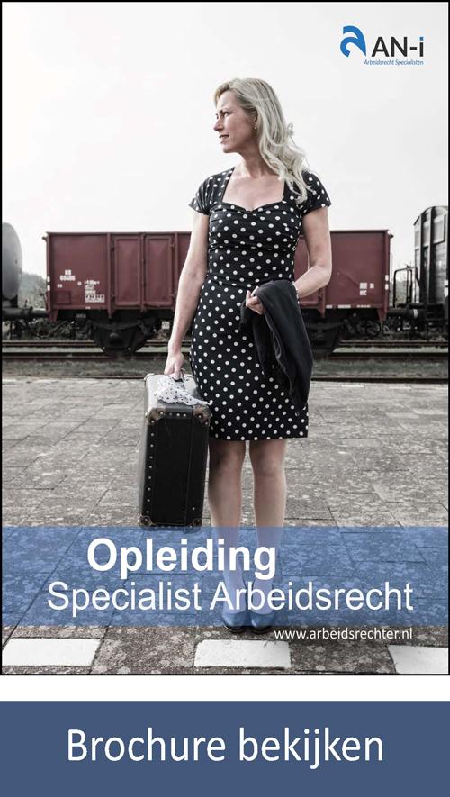 Brochure Specialist Opleiding Arbeidsrecht