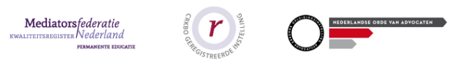 Centraal Kort Beroepsonderwijs (CRKBO). Een wettelijke erkenning, waarmee het onderwijs BTW-vrij aangeboden wordt. Eveneens heeft onze opleiding een RB-erkenning. Register Belastingadviseurs kunnen derhalve punten behalen door het volgen van onze opleiding. Mediators ontvangen door het volgen van de opleiding Specialist met examen 11 punten. Bij de cursusdagen worden naar rato punten toegekend.